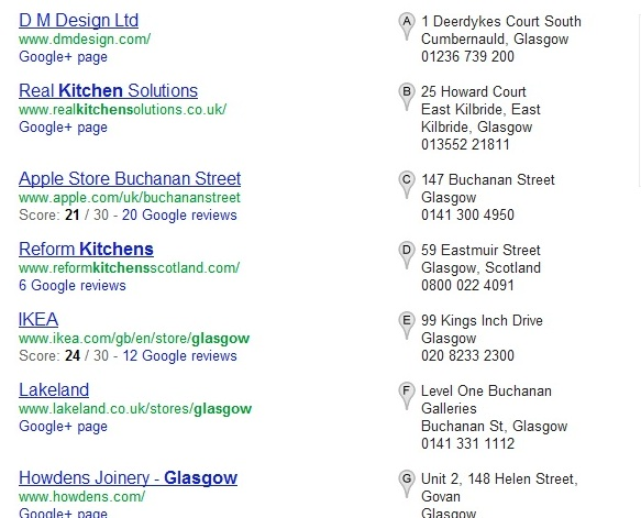 Search Results: Kitchens Glasgow